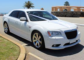 Nicholas Limousines - White Chrysler
